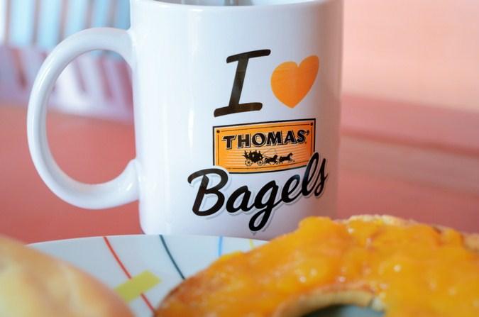Mi vestido azul - Desayuna con Thomas Bagels (6)