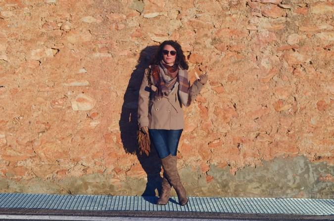 Brown look_maxiscarf_fringes_look_mivestidoazul (1)