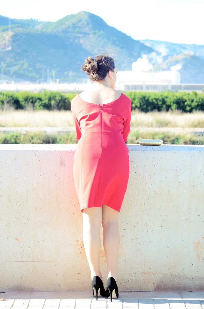 Lady in red & Magrid Bloggers Made In Spain 2016 _ Look_ Zapatos Magrit_mivestidoazul (14)
