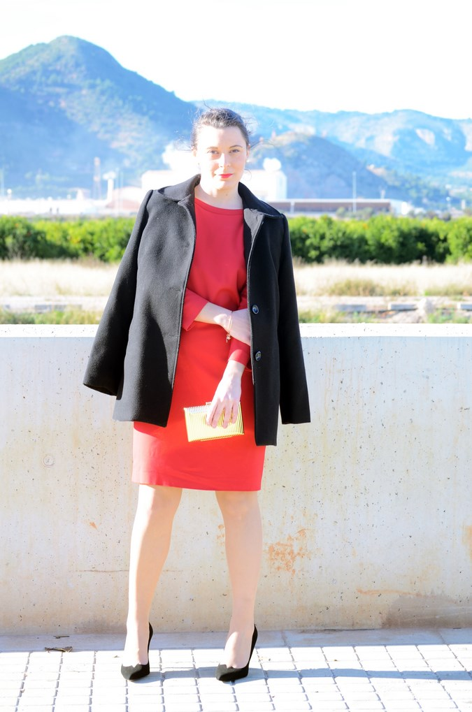 Lady in red & Magrid Bloggers Made In Spain 2016 _ Look_ Zapatos Magrit_mivestidoazul (19)