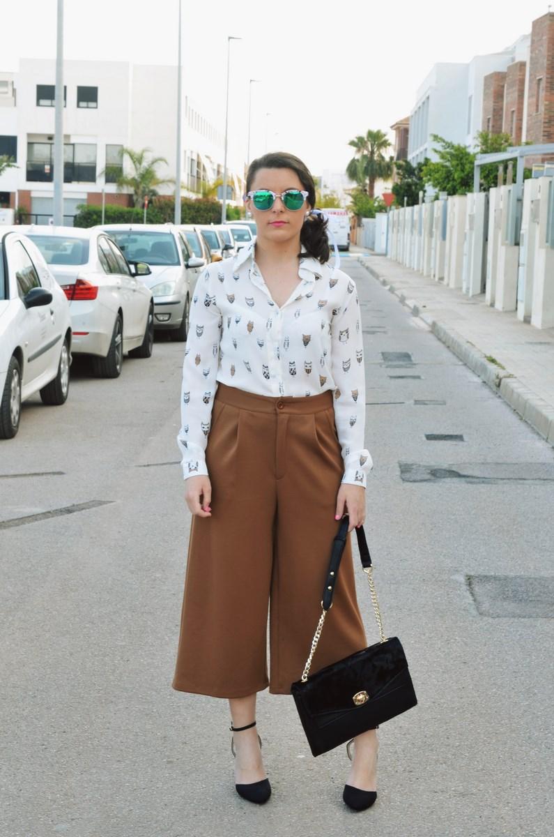 Blusa de buhos y culottes_outfit_mivestidoazul (3)