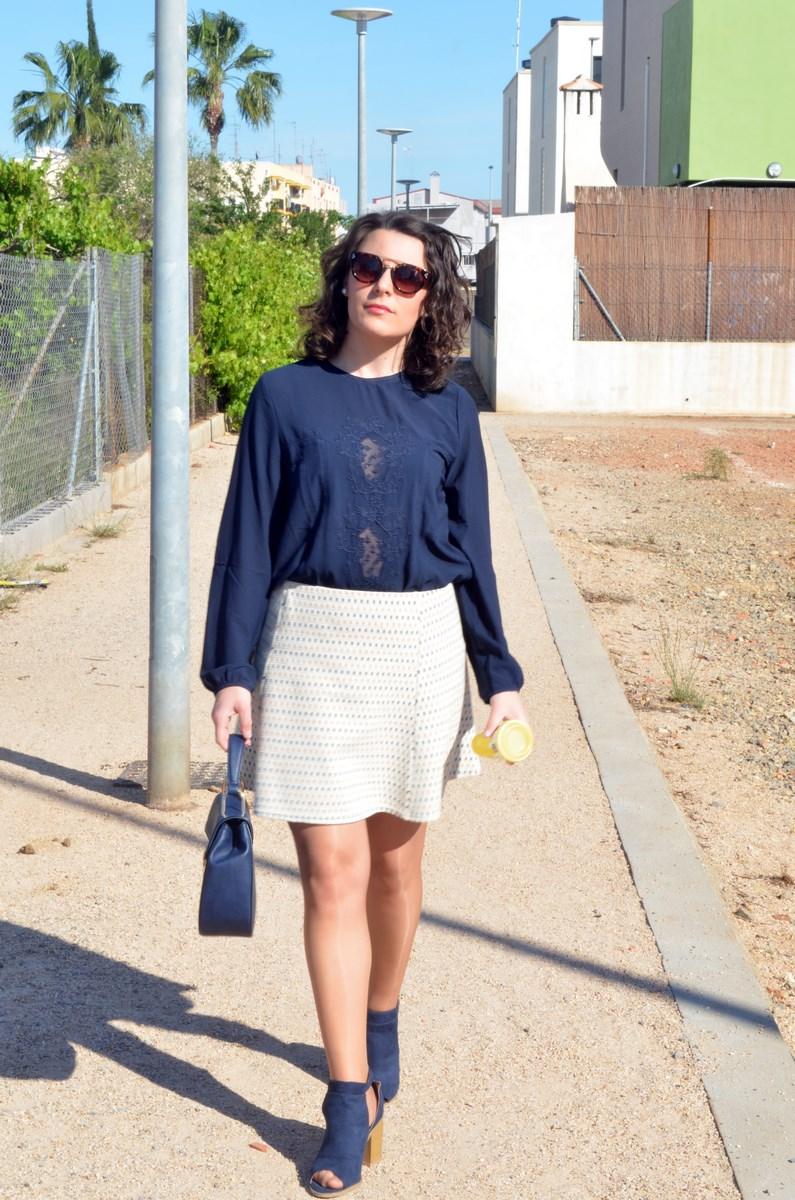 Working Girl Azul Marino | Mi Vestido Azul