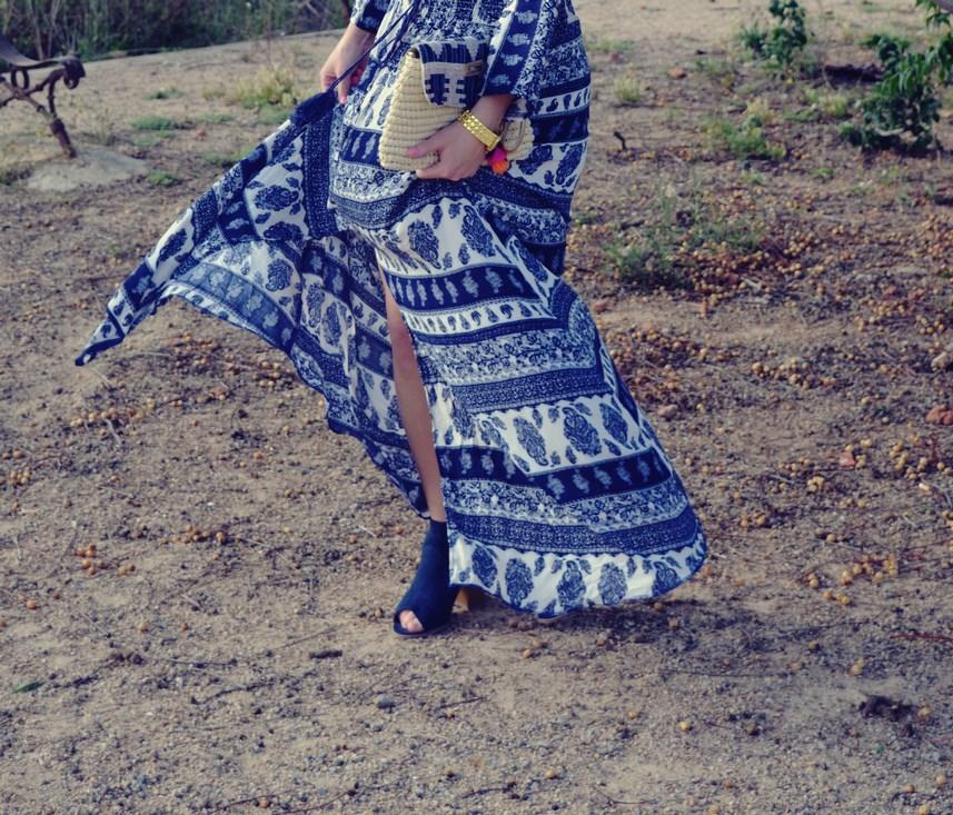 maxi vestido tribal outfit mi vestido azul fashion blogger (13)