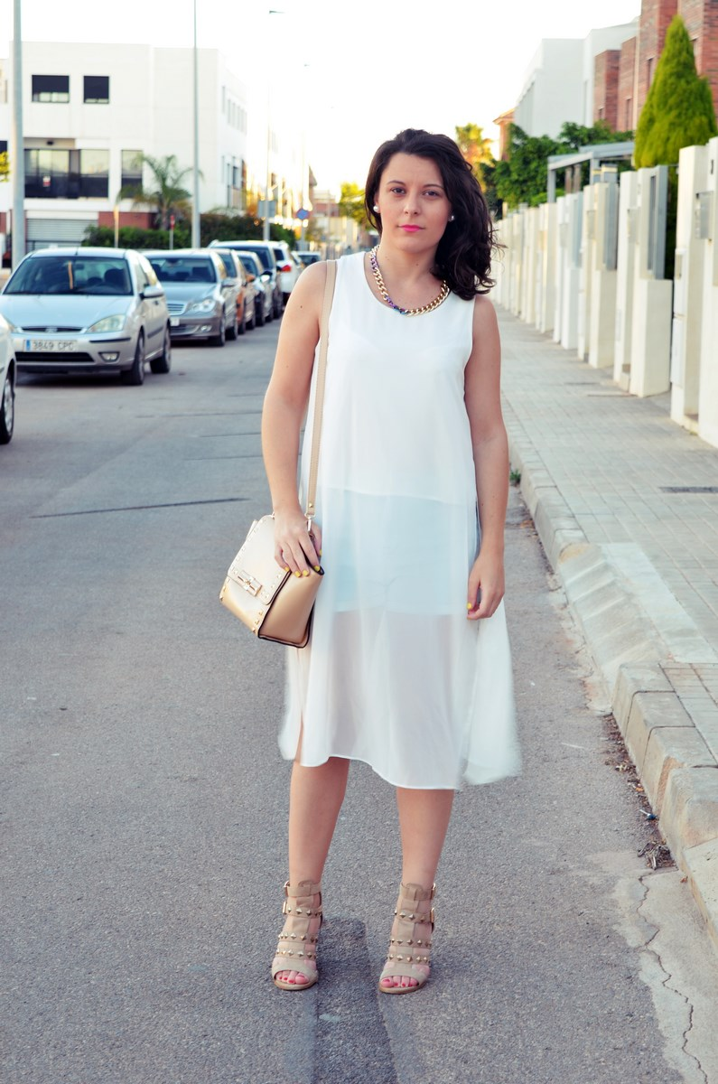 Blusa larga y shorts Outfit Mi vestidoazul Fashion blogger Friendsfluencers (2)