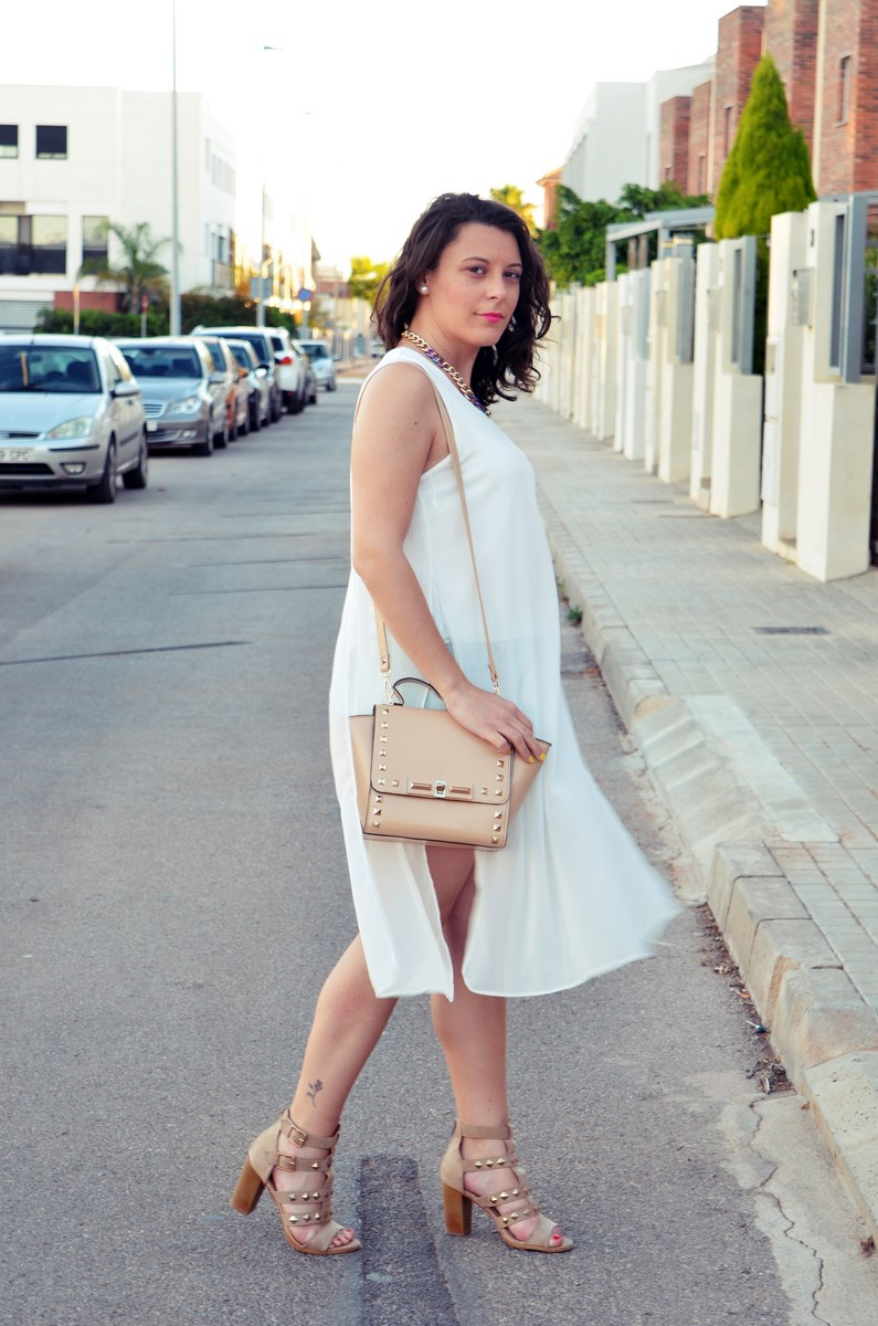 Blusa larga y shorts Outfit Mi vestidoazul Fashion blogger Friendsfluencers (4)