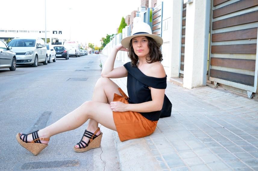 Falda abotonada y top escote bardot_look_mivestidoazul (17)