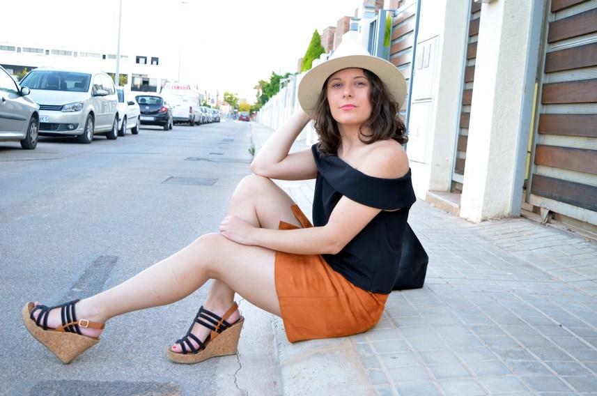 Falda abotonada y top escote bardot_look_mivestidoazul (18)