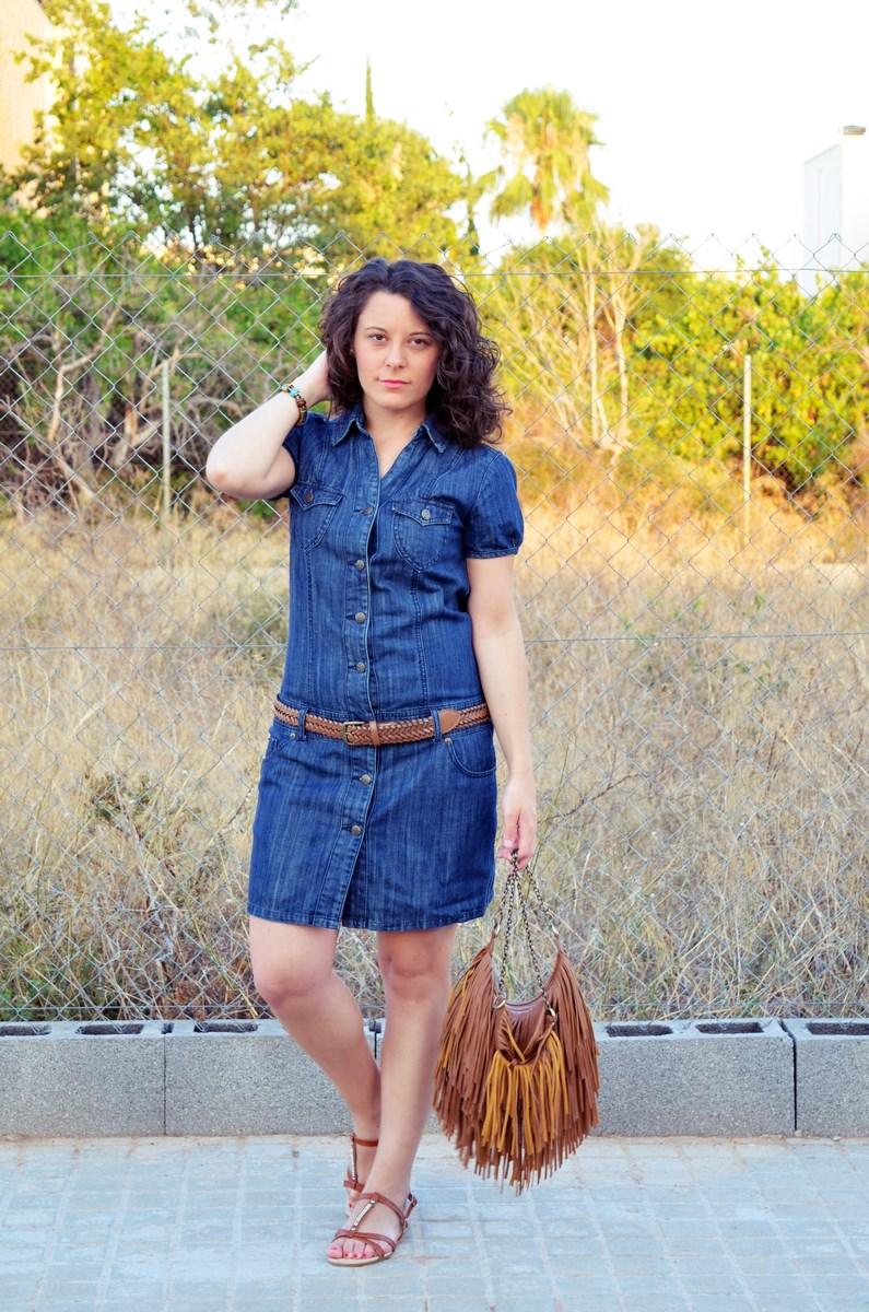 Vestido denim y flecos_look_mivestidoazul (3)