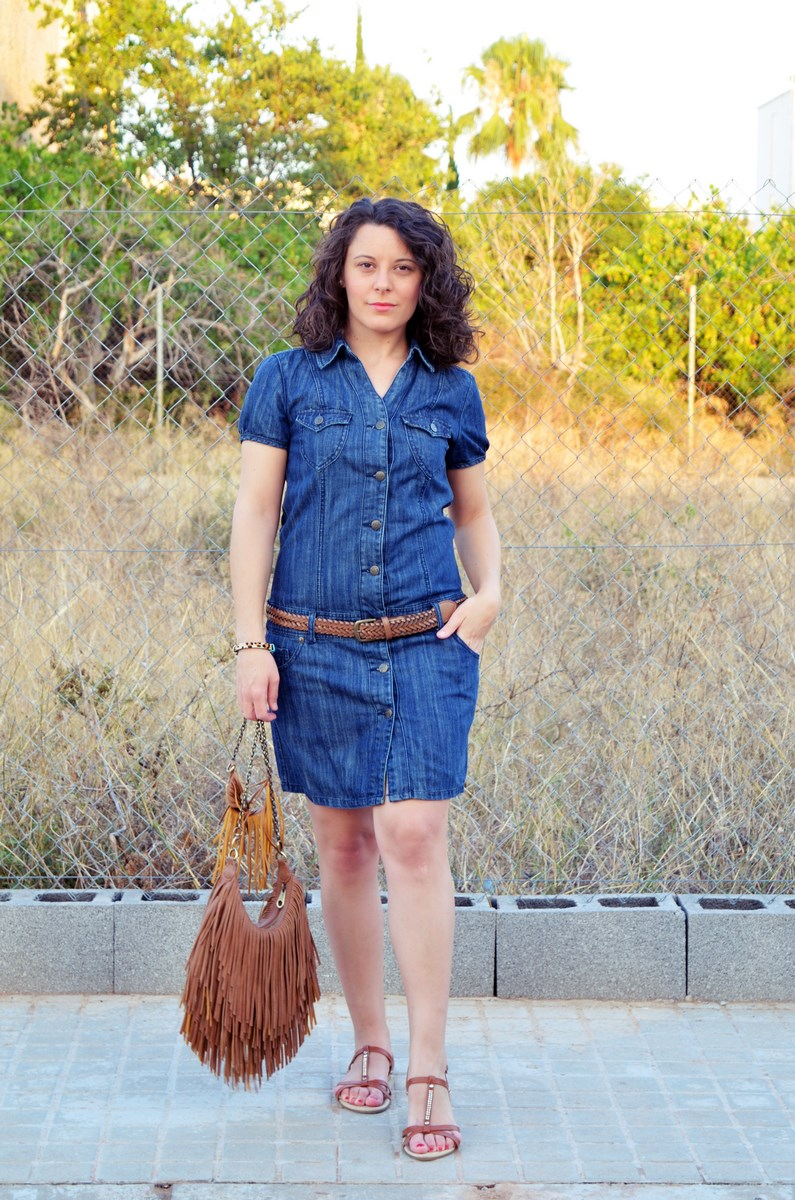 Vestido denim y flecos_look_mivestidoazul (4)