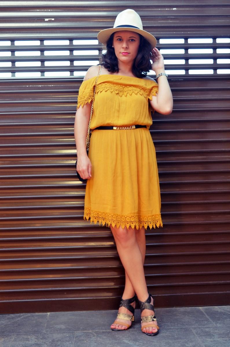 Vestido mostaza crochet look streetstyle fashion blogger mi vestido azul friendsfluencers (12)