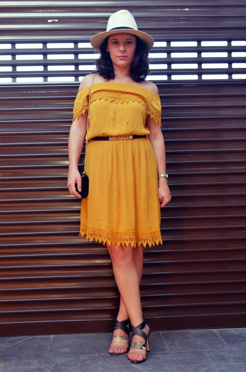 Vestido mostaza crochet look streetstyle fashion blogger mi vestido azul friendsfluencers (13)