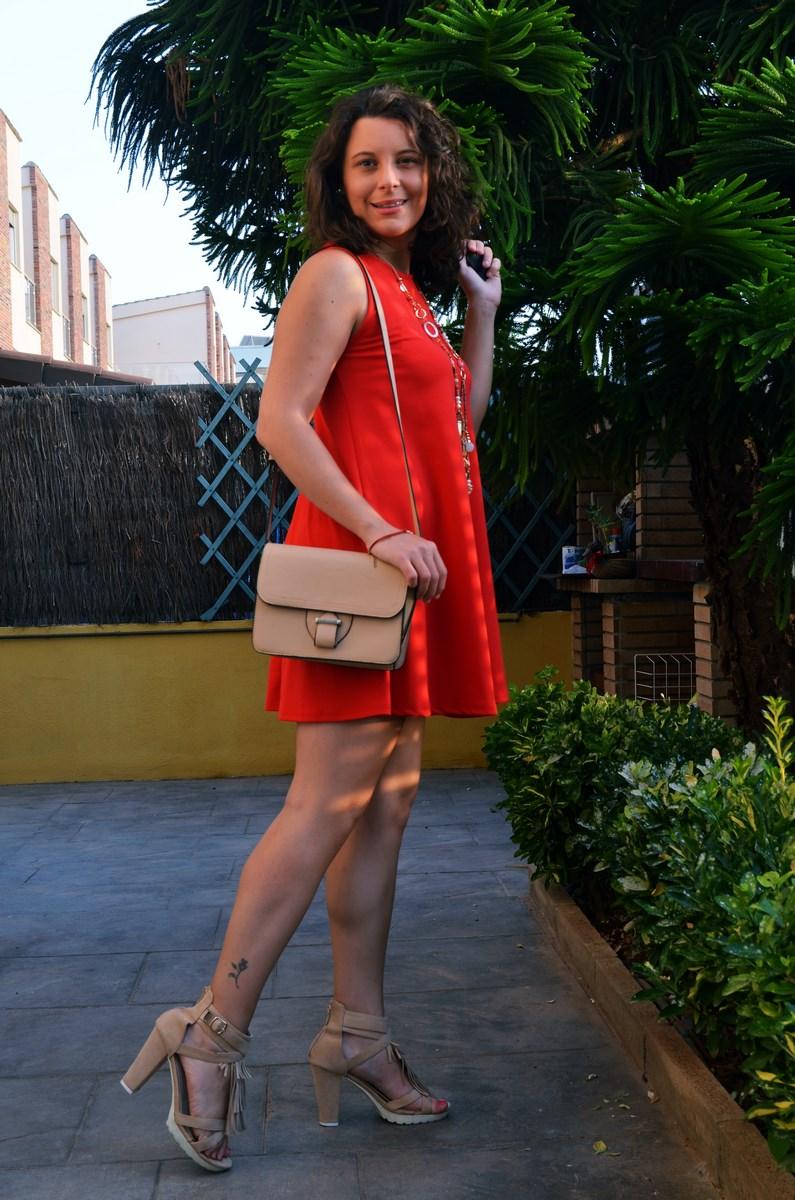 Vestido rojo anaranjado_look_streetstyle_mivestidoazul (13)