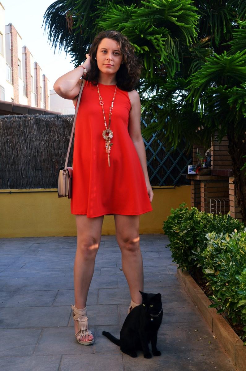 Vestido rojo anaranjado_look_streetstyle_mivestidoazul (4)