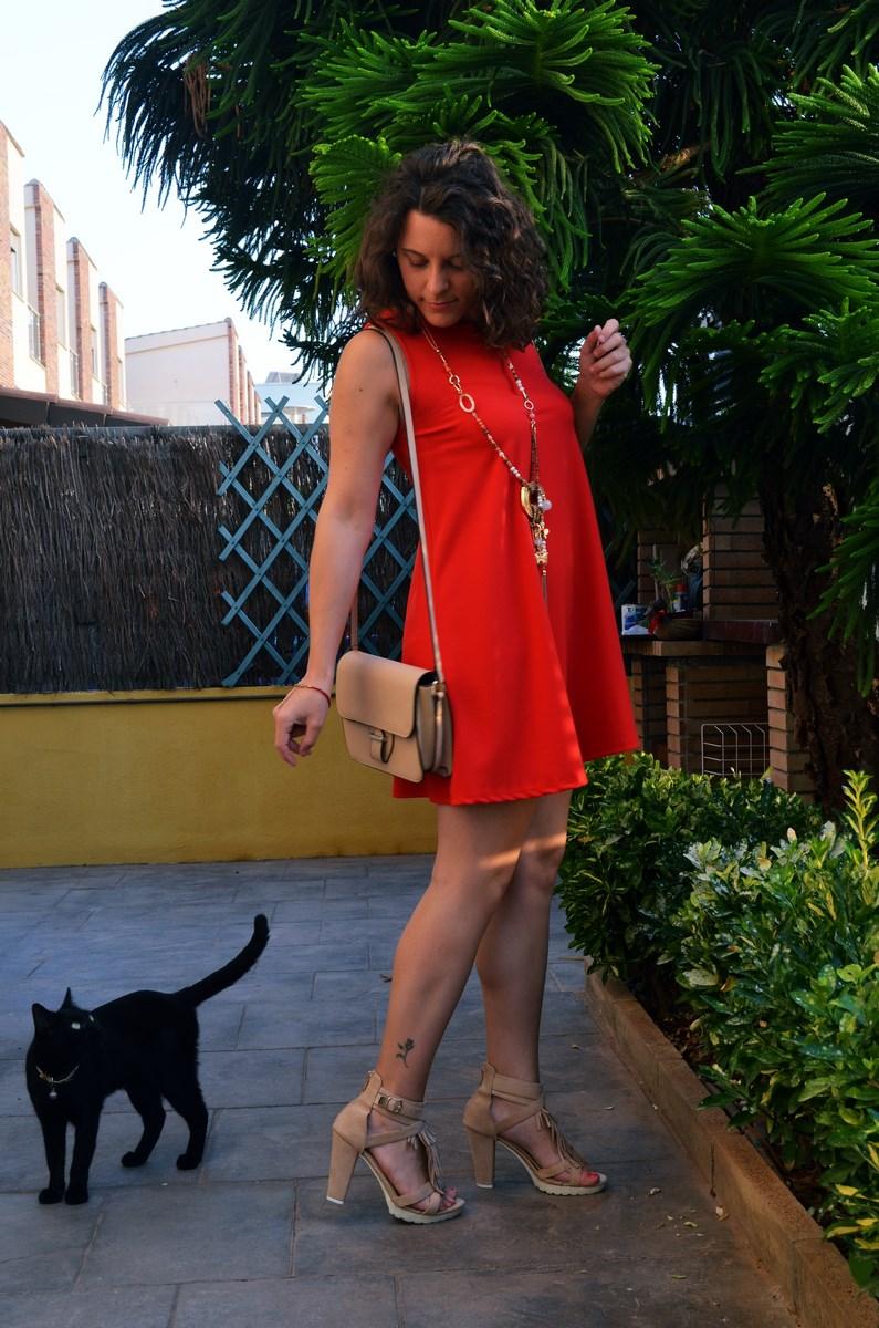 Vestido rojo anaranjado_look_streetstyle_mivestidoazul (7)