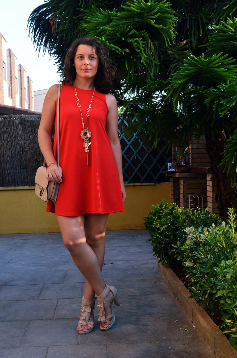 Vestido rojo anaranjado_look_streetstyle_mivestidoazul (8)