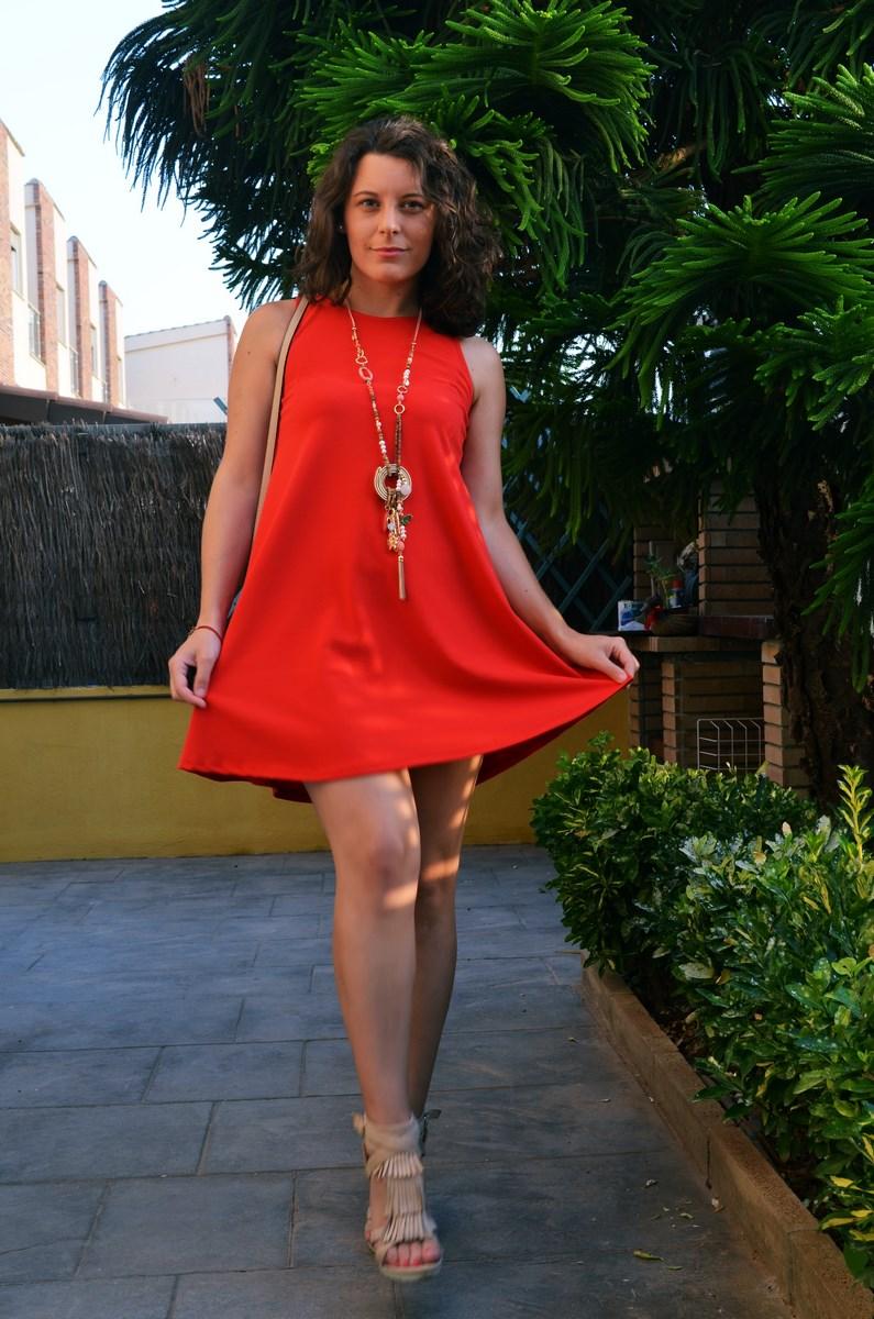 Vestido rojo anaranjado_look_streetstyle_mivestidoazul (9)