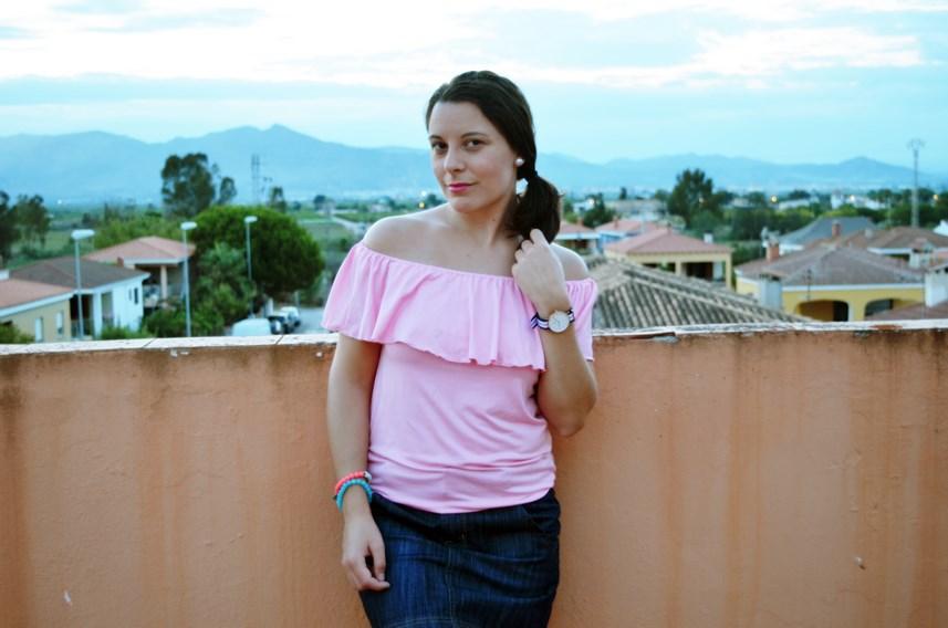 Camiseta rosa y mini capazo_look_verano_fashionblogger_mivestidoazul (9)