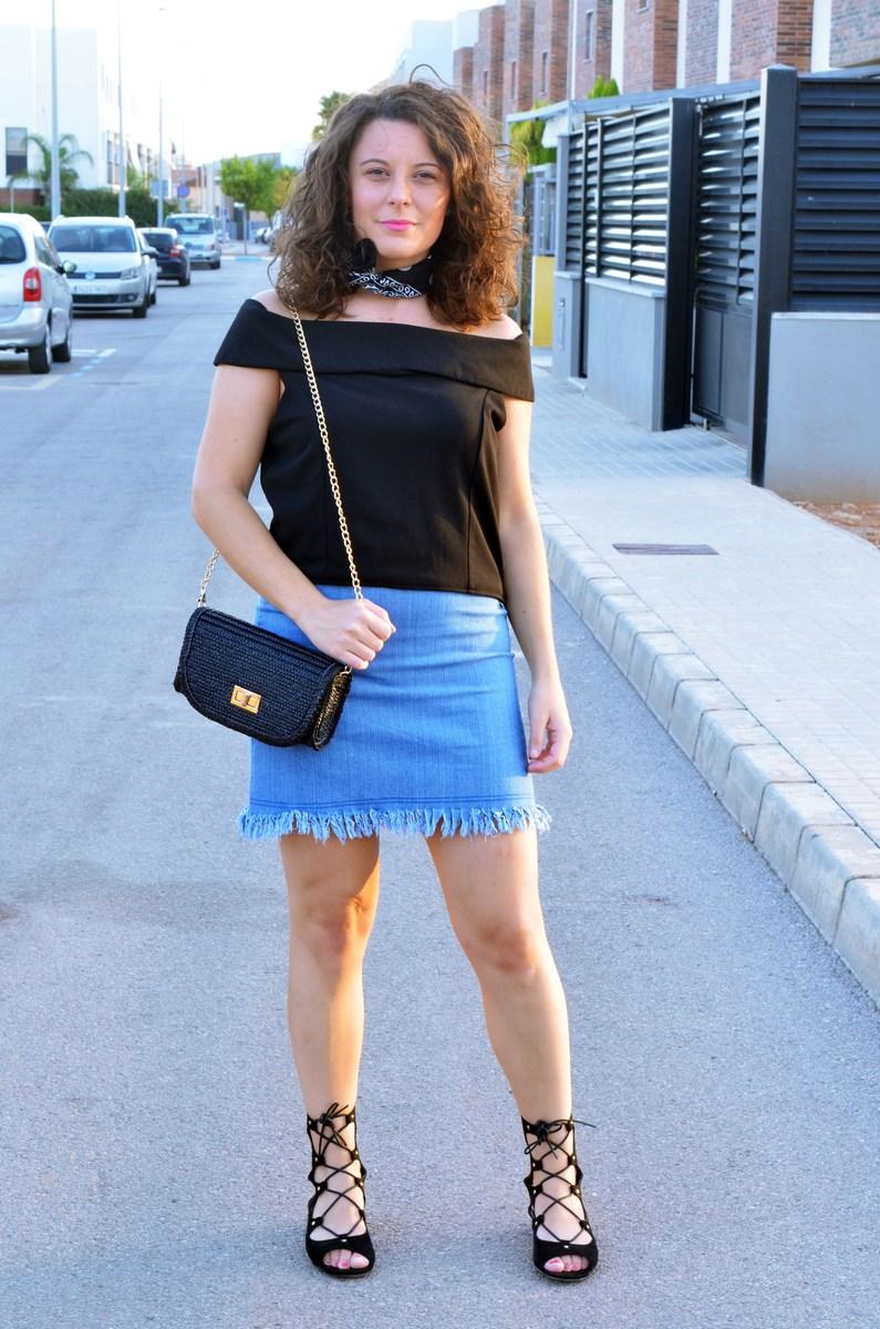 Falda desflecada_look_streetstyle_summer_tendencia_mivestidoazul (4)