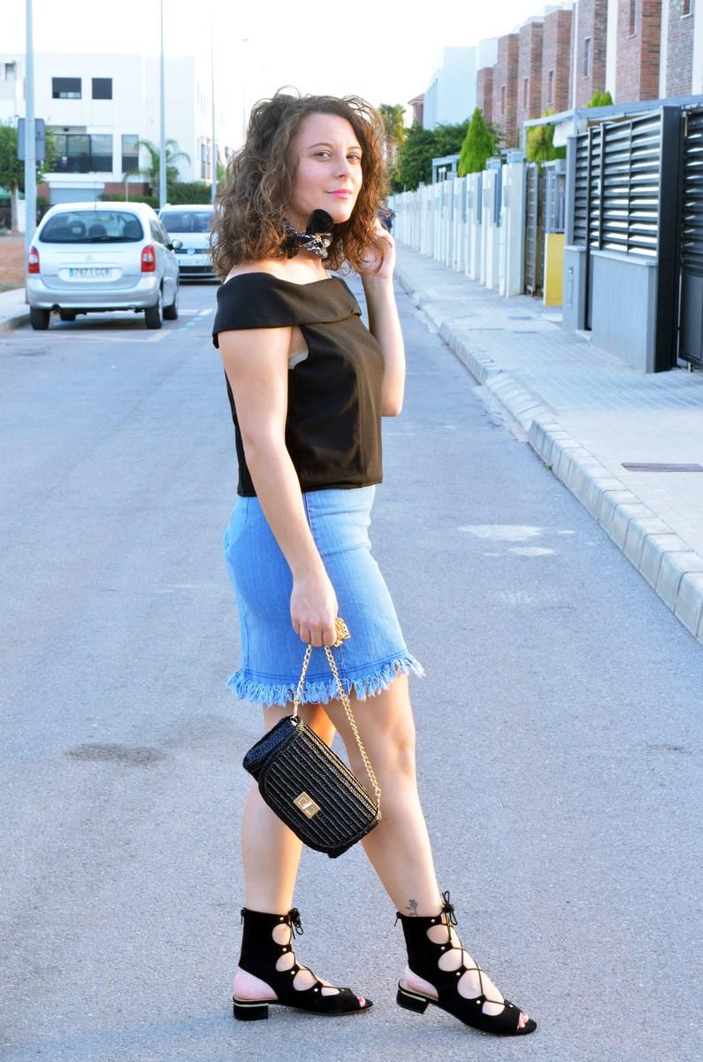 Falda desflecada_look_streetstyle_summer_tendencia_mivestidoazul (6)
