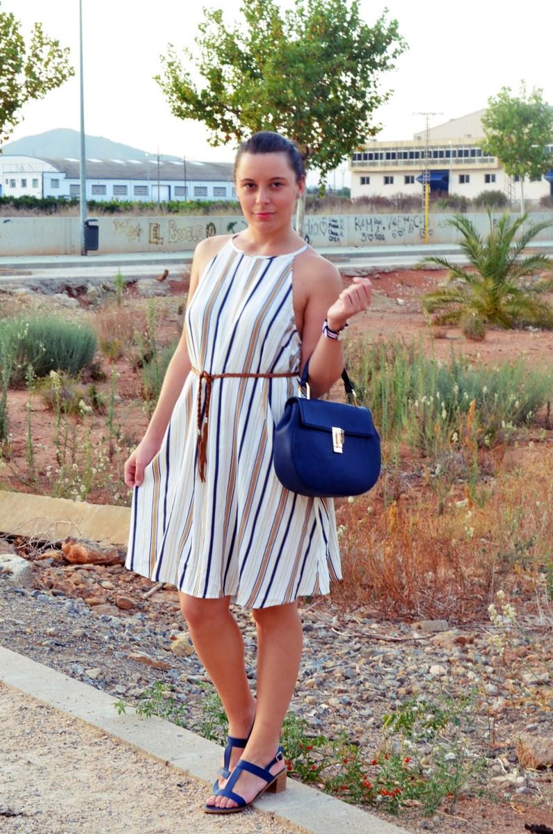 Look_vestido de rayas azul y camel_streetstyle_mivestidoazul (10)