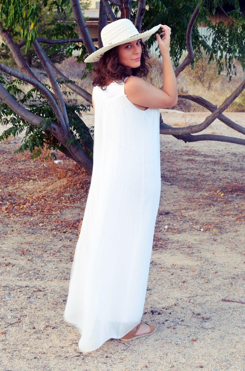 Vestido largo blanco de seda_streetstyle_bloggerscastellon_fashionblogger_mivestidoazul (6)