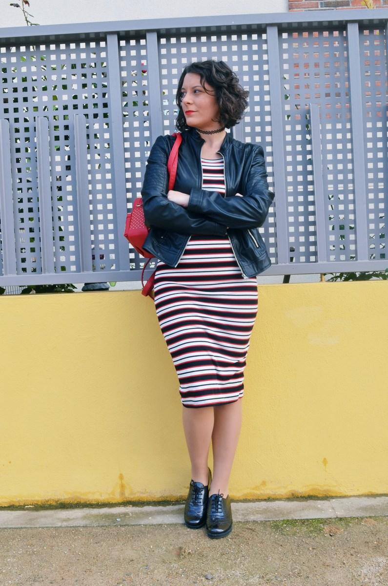 look_streetstyle_maxivestidoderayas_biker_bluchers_fashionblogger_mivestidoazul_influencer_blogdemoda_castellon_valencia-2