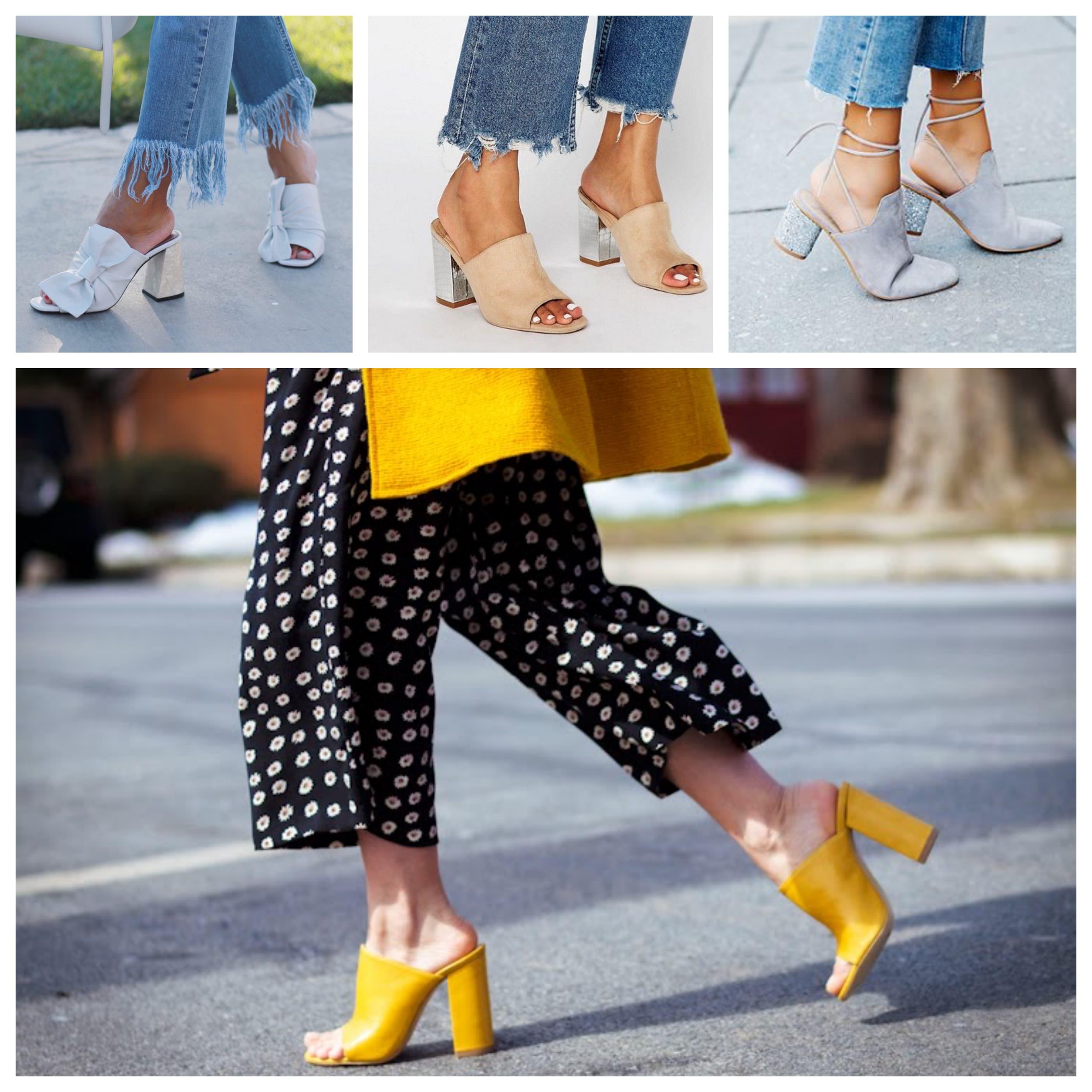 zapatos deportivos fb246 35054 Mules ¿con o sin tacón? | Mi Vestido Azul