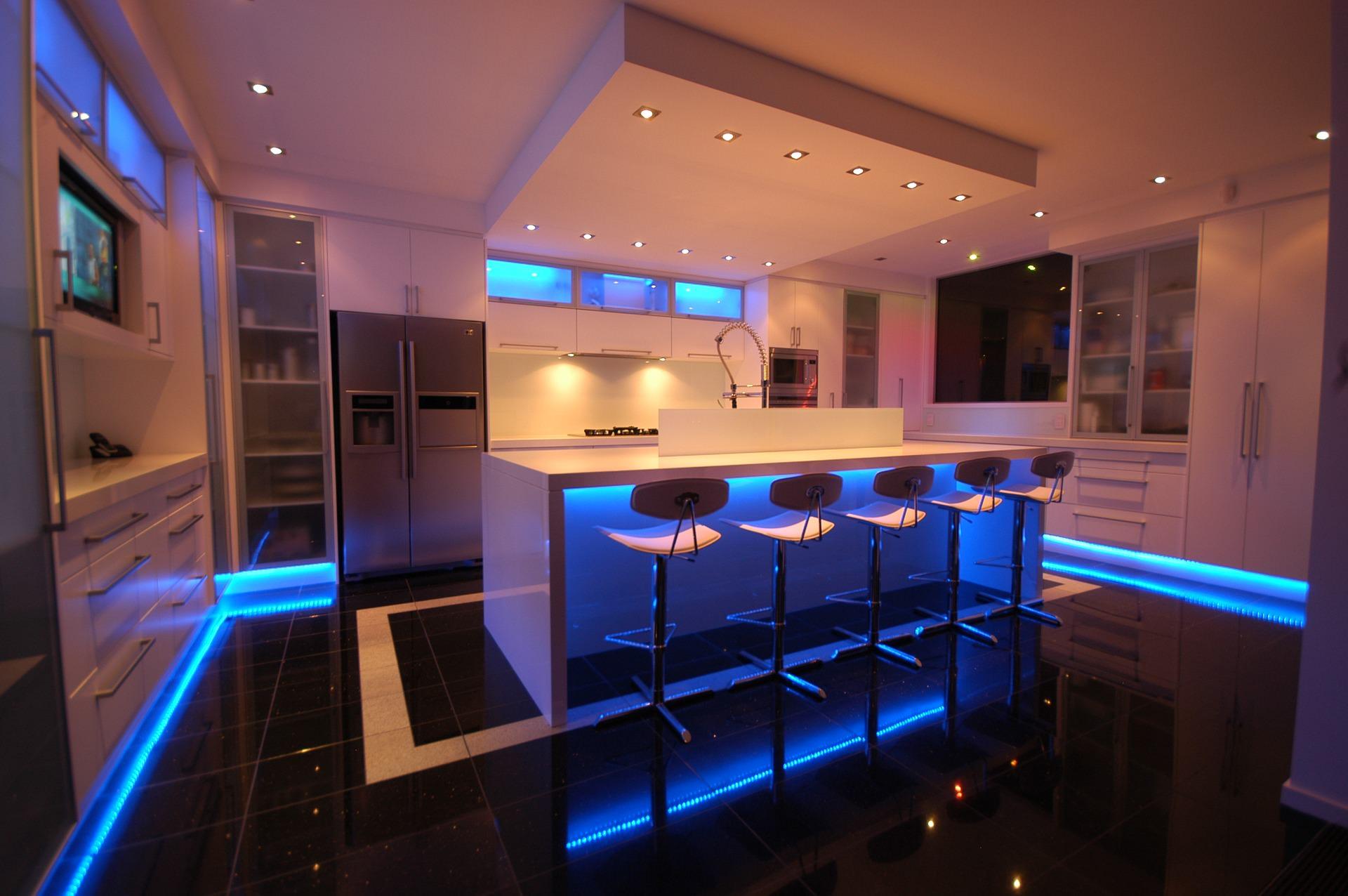 C mo decorar tu cocina como si se tratase de un bar mi for Bar para cocina