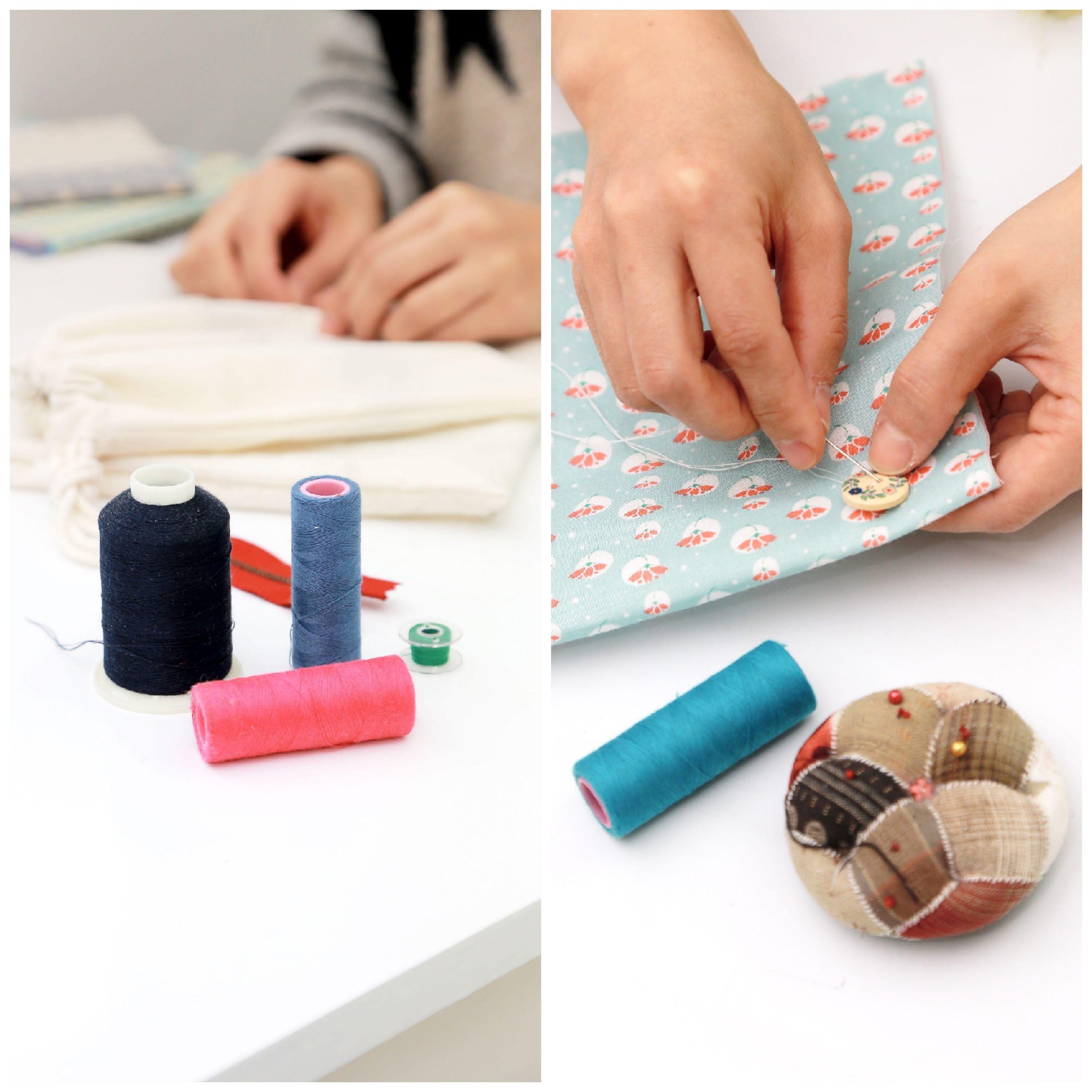 Coser vestidos con máquina de coser | Mi Vestido Azul