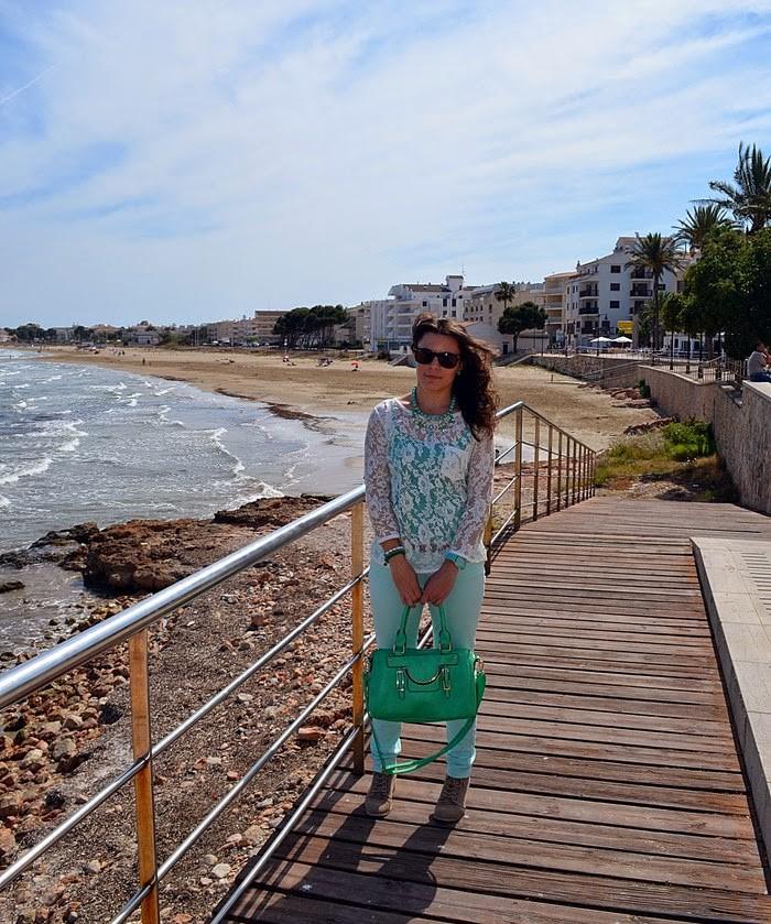 alcocebre, pastel, verde, playas