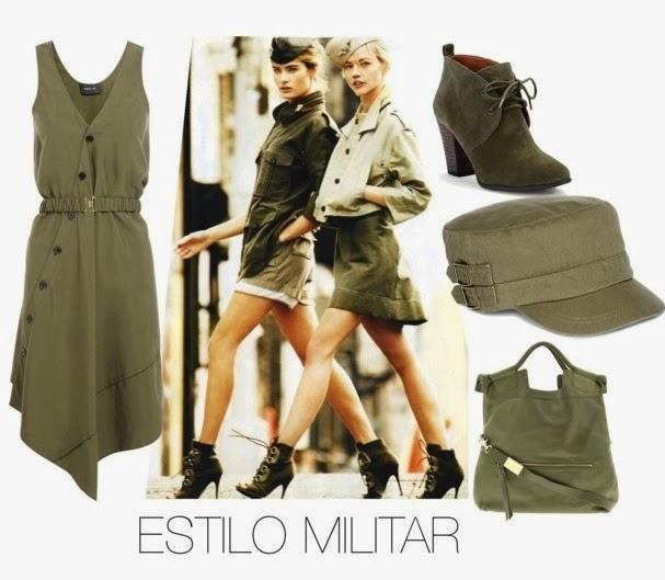 estilo, militar, verde, caqui