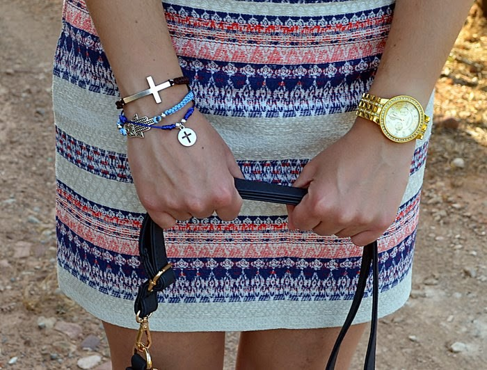 falda, Mango, estampado, étnico, skirt, ethnic, fashion blogger, Castellón, moda