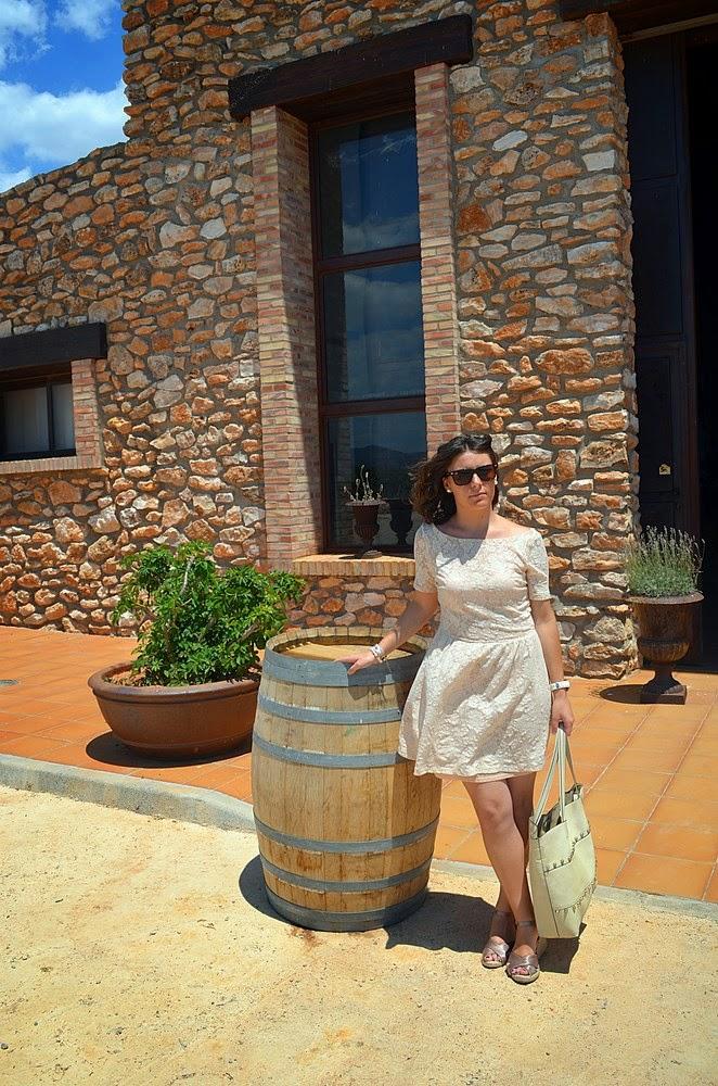 moda y viñas, bodega, viñedos, castellón, fashion blogger, mi vestido azul