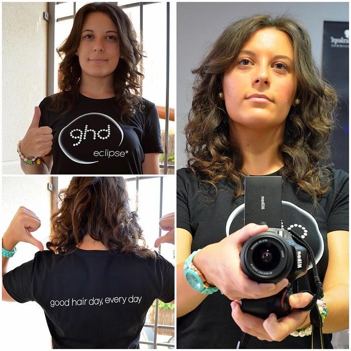 GHD, bloggers, castellón, Anna Gilabert Estilistas, planchas, stylers, eclipse, gold, mi vestido azul