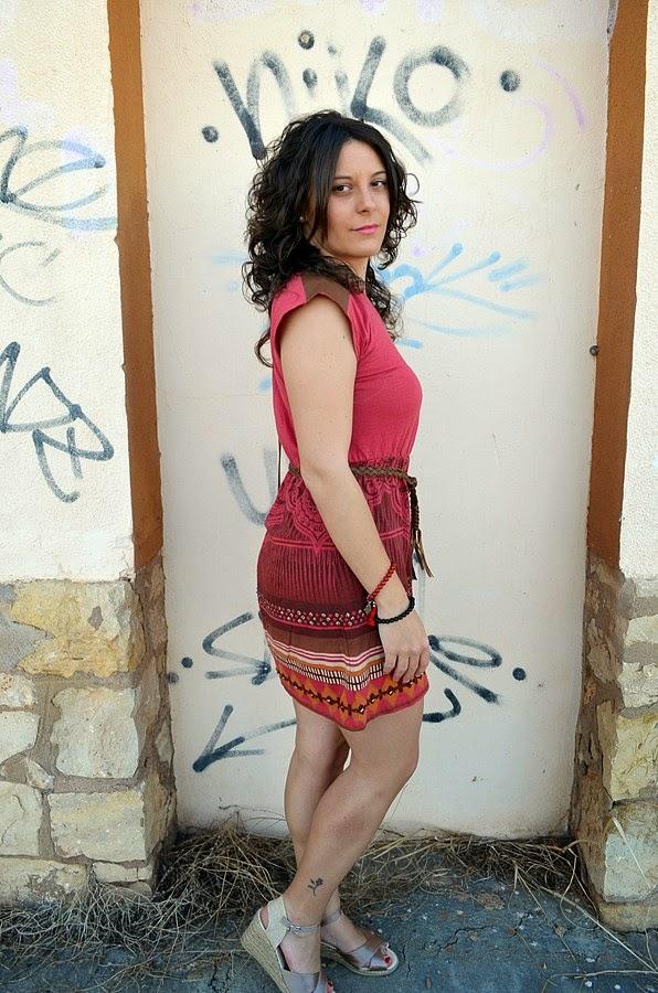 vestido étnico, ethnic dress, moda, blogger, castellón, blog de moda, fashion blogger