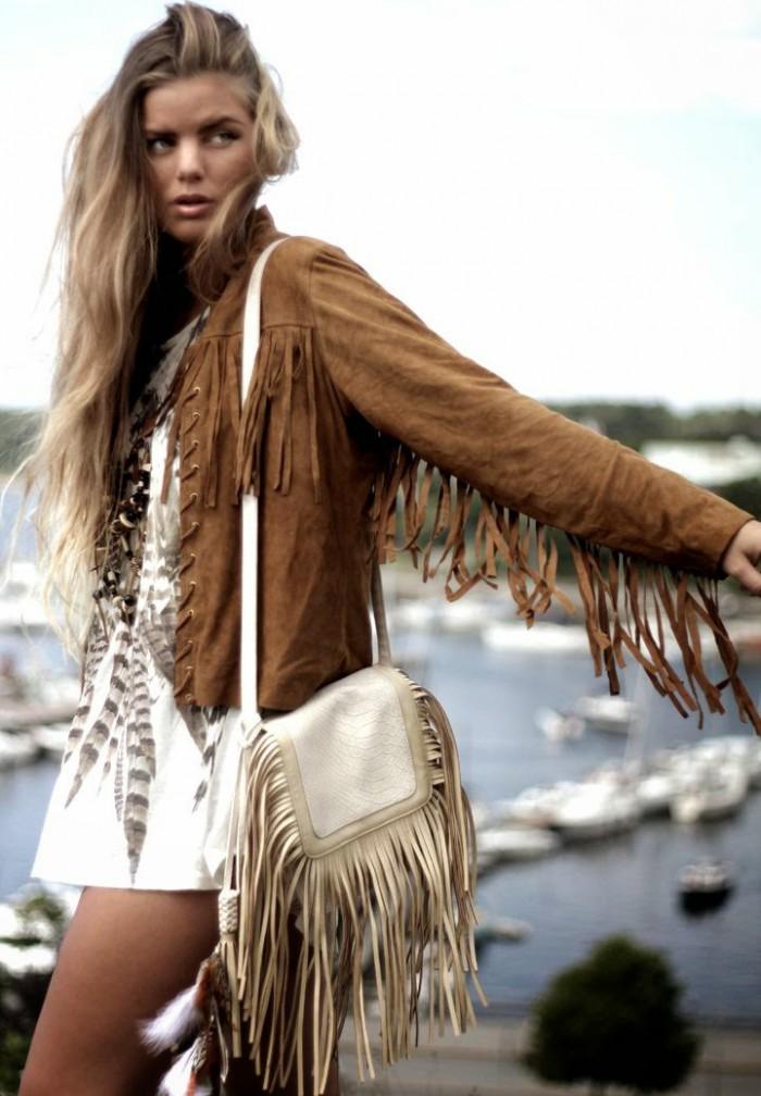 fringe style, tendencia, flecos, mi vestido azul, fashion blogger, blog de moda