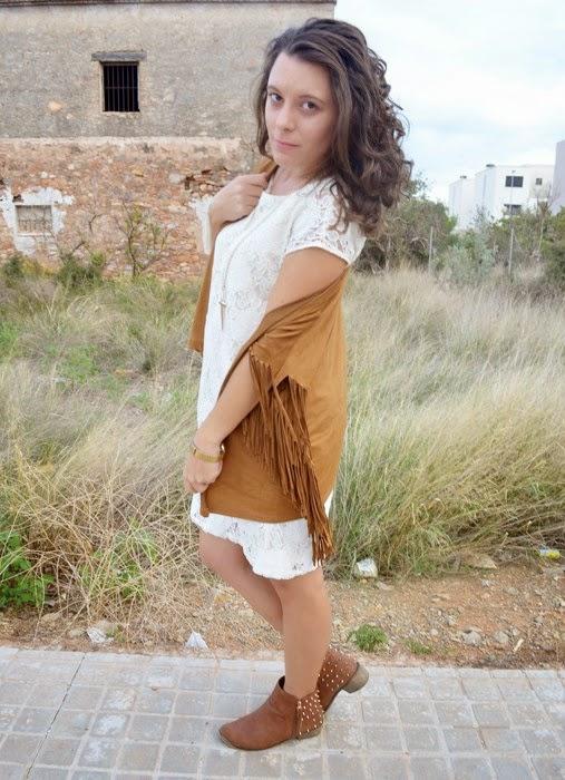 boho chic, fringe, flecos, kimono, mulaya, blog de moda, mi vestido azul, blogger, castellón