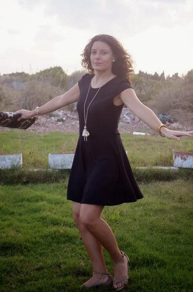 lbd, trench, little black dress, mi vestido azul, blog, valencia, castellón, blogger, blog de moda