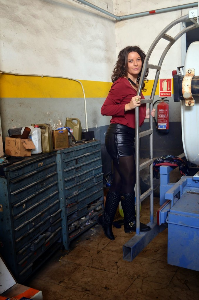 truck workshop, taller camiones, alicante, ripasa, spain, blogger, moda, looks, mi vestido azul, fashion blogger, blog de moda