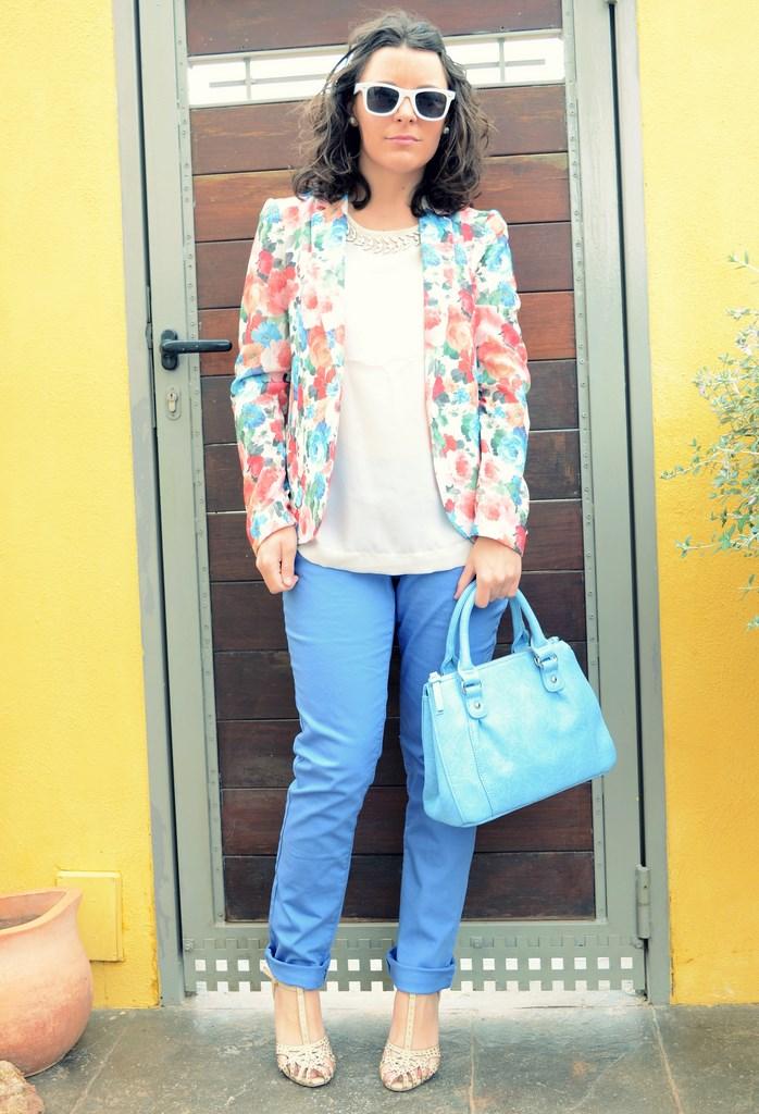 Mi Vestido Azul - Flowers Blazer II (5)