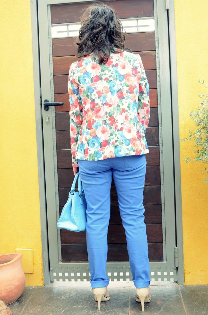 Mi Vestido Azul - Flowers Blazer II (7)
