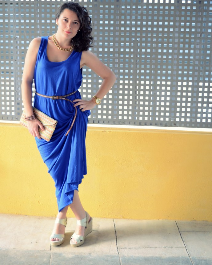 Mi Vestido Azul - Maxi blue dress (12)