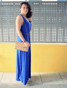 Mi Vestido Azul - Maxi blue dress (6)