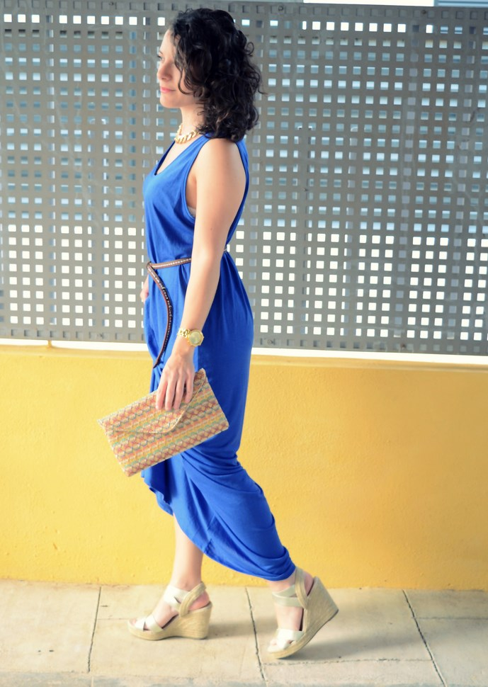 Mi Vestido Azul - Maxi blue dress (8)