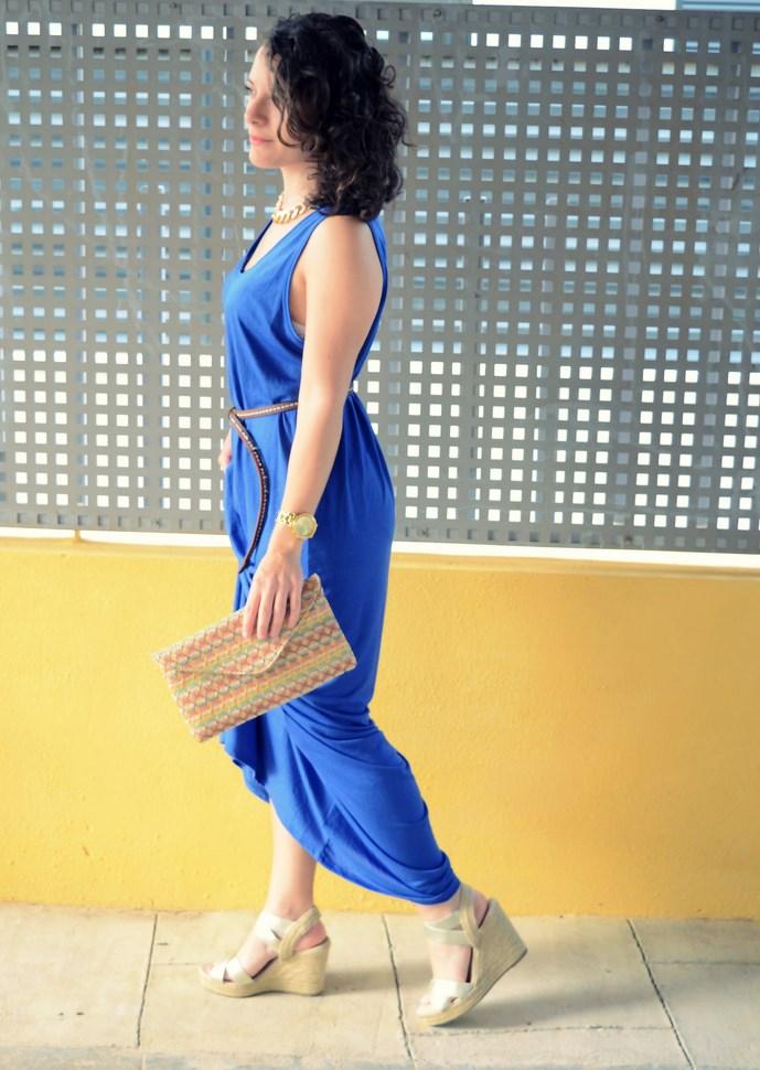 Mi Vestido Azul - Maxi blue dress (8)