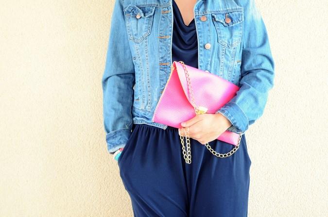 Mi vestido azul - Touch of pink (11)