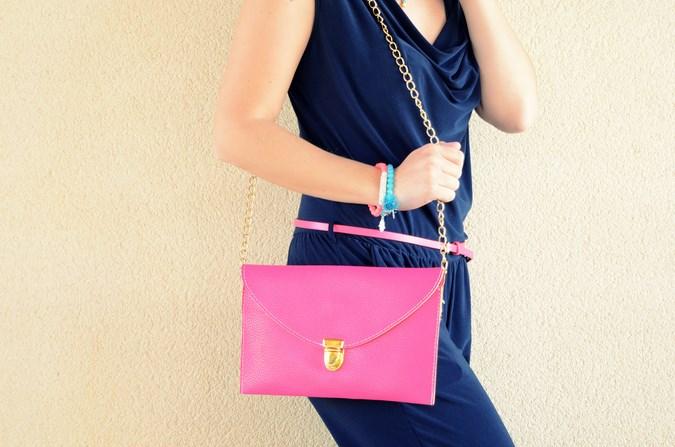 Mi vestido azul - Touch of pink (12)