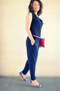 Mi vestido azul - Touch of pink (4)