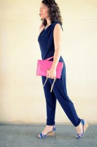 Mi vestido azul - Touch of pink (7)