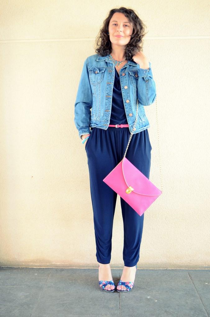 Mi vestido azul - Touch of pink (8)
